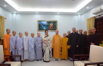 Meeting with Vietnam Buddhist University (VBU), HCMC