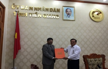 Consul General's meeting with Vice Chairman of  Tien Giang People's Committee