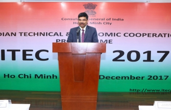The Consulate General of India celebrated 'ITEC Day 2017' on HCM City on the 22 December 2017.