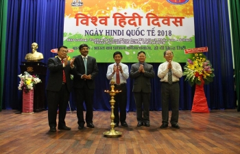 Celebration of World Hindi Day 2018 in Ho Chi Minh City