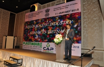 Indian Plastic Business Connects Vietnam on 11 January 2018 in HCMC