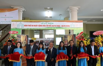 Commemoration of 69th Republic Day by HUFO and VIFA on 25 January, 2018  in Ho Chi Minh City