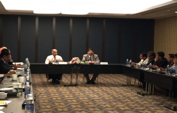 Ambassador P. Harish met the members of Indian Business Chamber in Ho Chi Minh City on 16 March 2018
