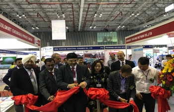 B2B Meeting organised by the Consulate for CHEMEXCIL delegation that participated in Coatings Expo Vietnam 2018 at Saigon Exhibition and Convention Center, HCM City from 13-15 June 2018
