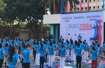 Celebration of 4th IDY in Kien Giang Province, Vietnam on 26 June, 2018