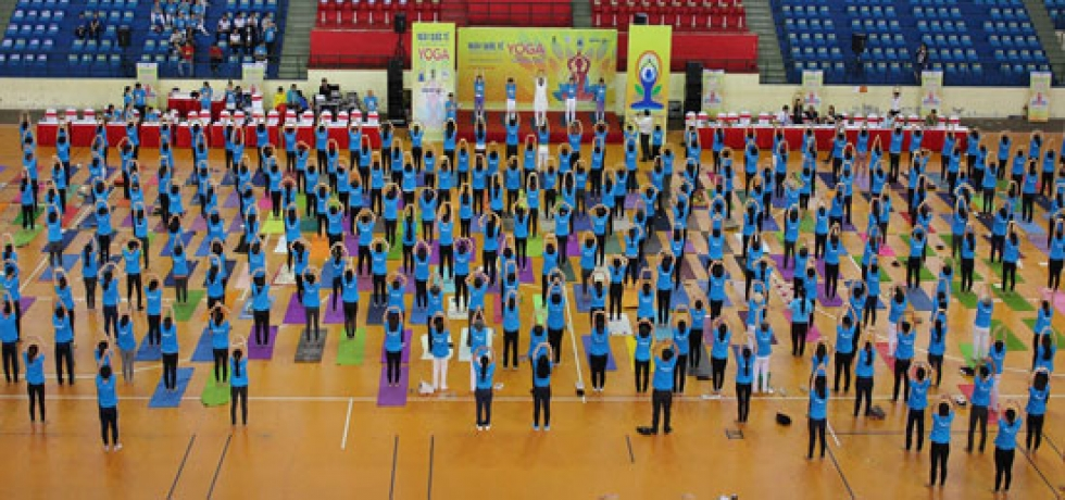 Celebration of 4th IDY in Can Tho City, Vietnam on 22 July 2018