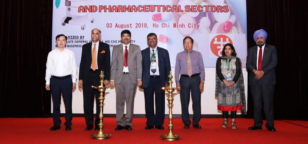 Conference on India – Vietnam Cooperation in Medical, Hospital and Pharmaceutical Sectors on 3rd August, 2018 in Ho Chi Minh City