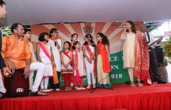 Celebration of 72nd Independence Day of India in Ho Chi Minh City