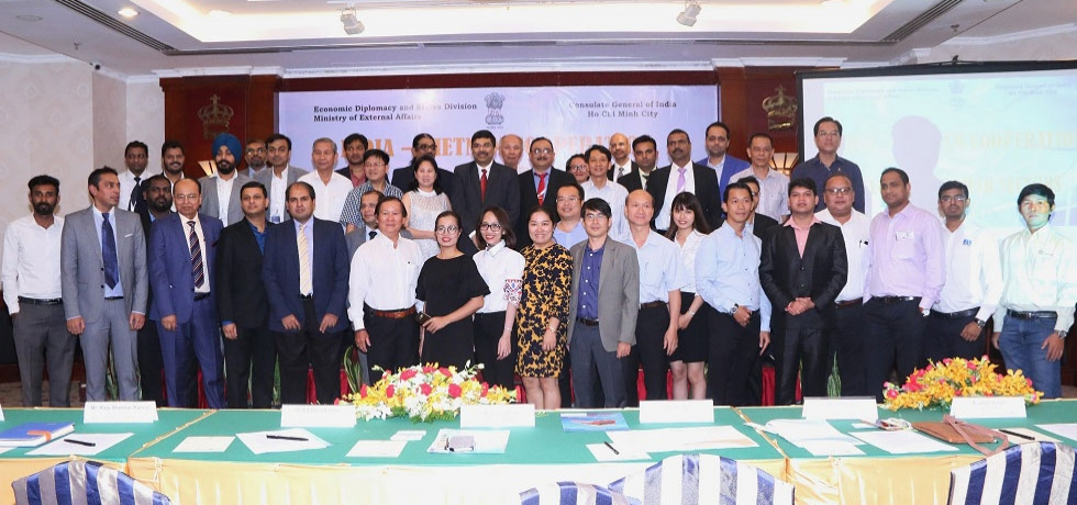 B2B Event organized by the CGI, HCM City on 13 September, 2018 for Indian companies that participated in the Electric and Power Vietnam 2018 Exhibition held from 12-14 September 2018 in Ho Chi Minh City.
