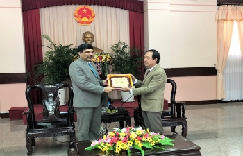 Consul General's visit to Tra Vinh Province of Vietnam on 21 September 2018