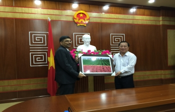 Consul General's visit to Soc Trang Province on 25 September 2018