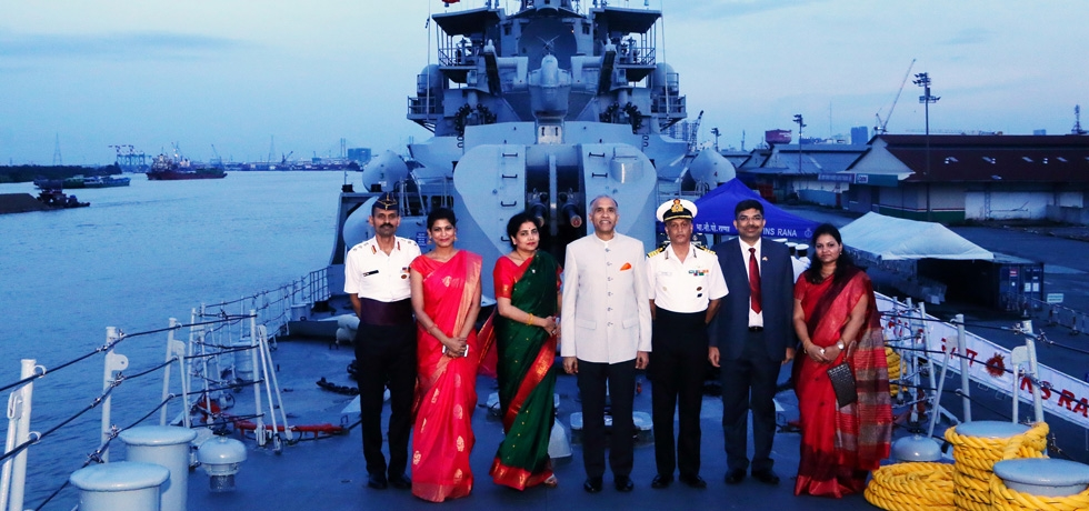 Goodwill Visit of Indian Navy Ship, INS RANA to Vietnam,  27-30 September 2018