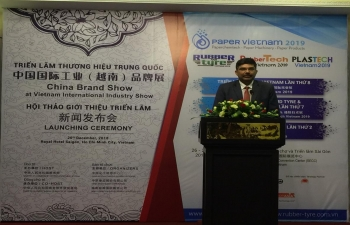 Launching Event of the 8th International Exhibition and Conference on Pulp and Paper Industry in Vietnam held on 20 December 2018 in Ho Chi Minh City