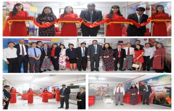 Celebration of ITEC Day 2018 and Opening of India Corner at Ho Chi Minh City University of Technology and Education on 27 December, 2018.
