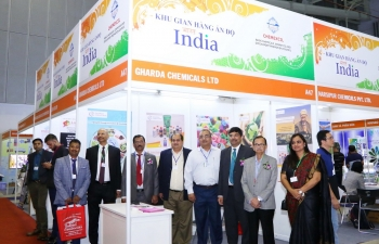 26 Indian companies led by CHEMEXCIL participated in the Vietnam Coating 2019, Agri Vietnam 2019 & Paper Vietnam 2019 organized from 26-28 June, 2019  at the  Saigon Exhibition and Convention Centre (SECC).