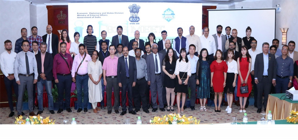 India-Vietnam B2B Meet in Chemical Sector organized by the Consulate for Indian companies participating in Vietnam Coating 2019, Agri Vietnam 2019 & Paper Vietnam 2019  on 27 June, 2019 in Ho Chi Minh City