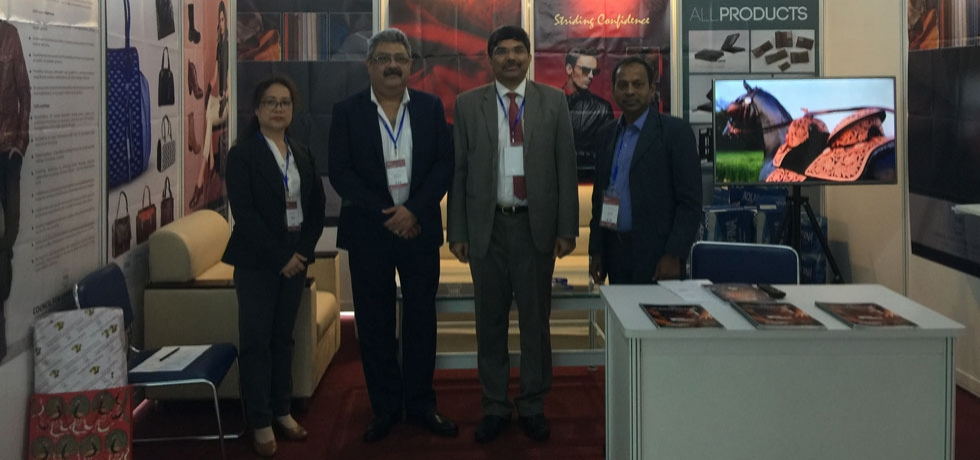23 Indian companies led by Council for Leather Exports (CLE) participated in the 21st International Shoes & Leather Fair held in Ho Chi Minh City from 10-12 July 2019.
