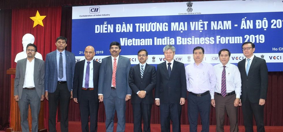 India-Vietnam Business Forum followed by B2B Meetings organized for visiting CII Delegation