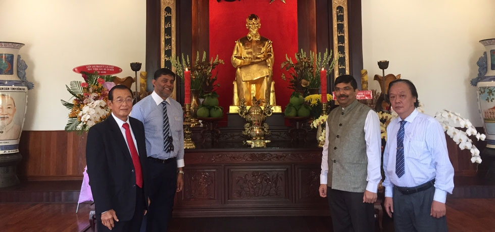 Visit of Consul General Dr. K. Srikar Reddy to Ho Chi Minh President Museum on 12th September, 2019