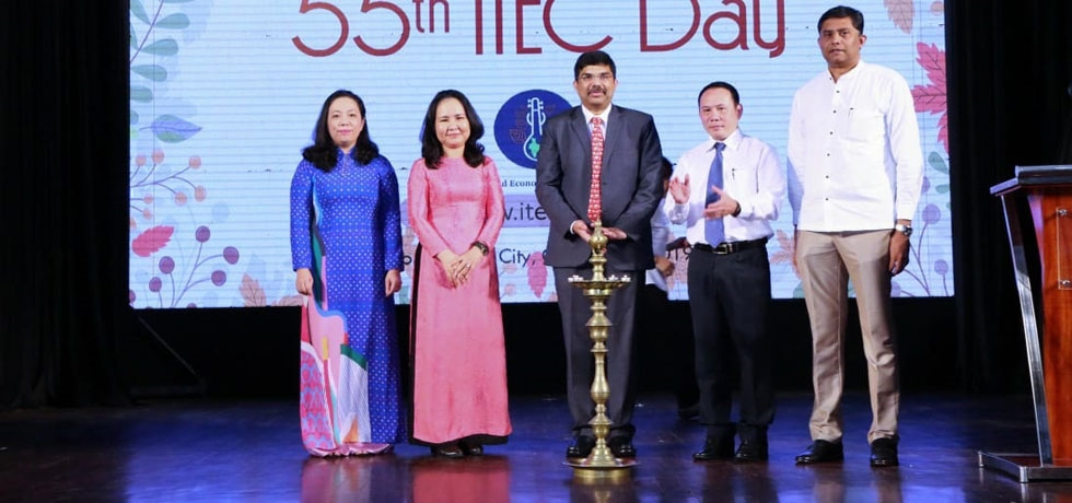 Celebration of 55th ITEC Day in Ho Chi Minh City on 23rd October, 2019.