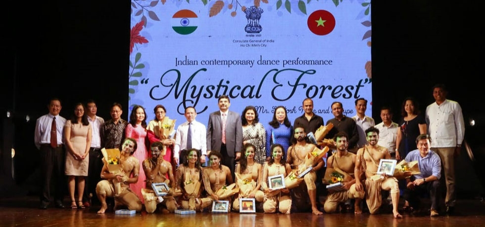 Mystical Forest', a Contemporary Dance Performance by ICCR troupe on the occasion of 55th ITEC Day in Ho Chi Minh City on 23rd October, 2019.