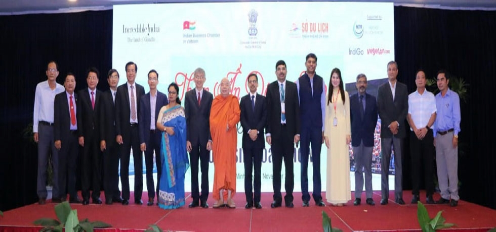 Incredible India Tourism Roadshow 2019 organized by the Consulate General of India, HCMC on 27th November, 2019.