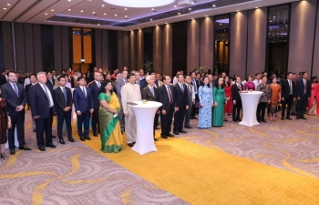 71st Republic Day Reception hosted by Consulate General of India on 04.02.2020