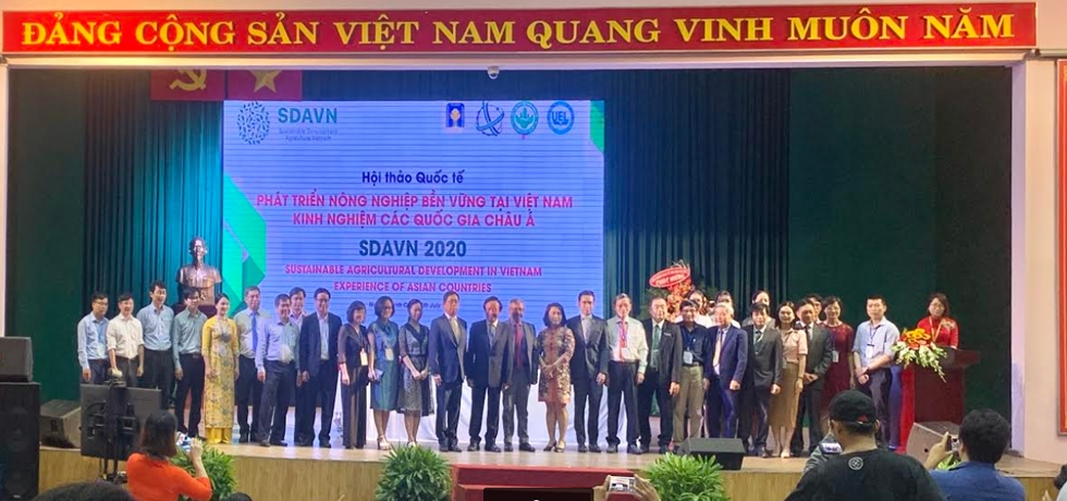 Mr. R.O. Sunil Babu, Acting Consul General attended the Sustainable Agricultural Development in Vietnam - Experience of Asian Countries on 17th July, 2020 at the University of Economics and Law, HCMC