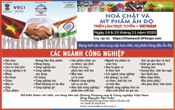 Indian Chemicals and Cosmetics Virtual Trade Fair - Vietnam (24th & 25th November 2020)