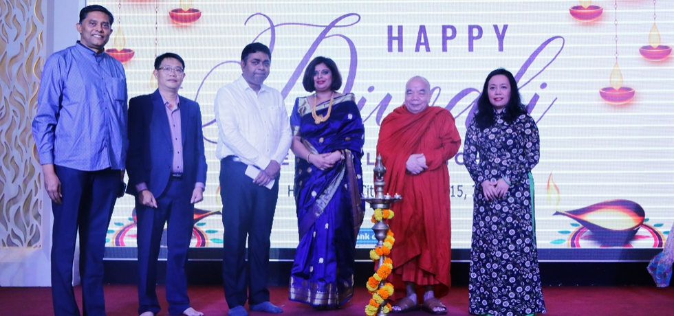 Diwali Celebrations by Consulate General of India, Ho Chi Minh City on 15th November, 2020