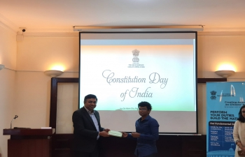 Constitution Day Celebrations (26th November, 2020)