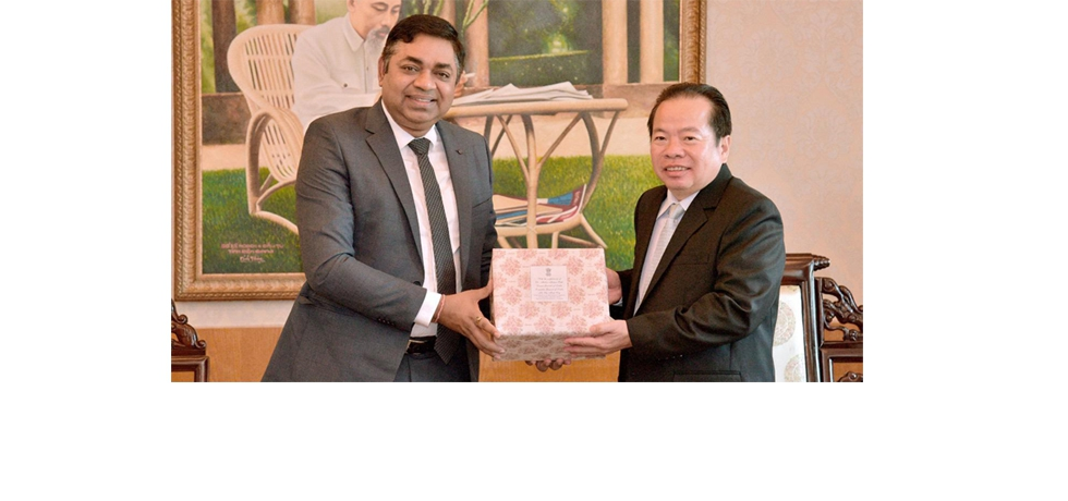 Meeting of Dr. Madan Mohan Sethi, Consul General with Mr Mai Van Huynh, Standing Deputy Party Secretary of Kien Giang Party Committee on 28th December 2020.