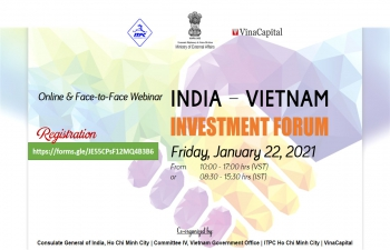 Webinar on 'INDIA - VIETNAM INVESTMENT FORUM' (22nd January, 2021)