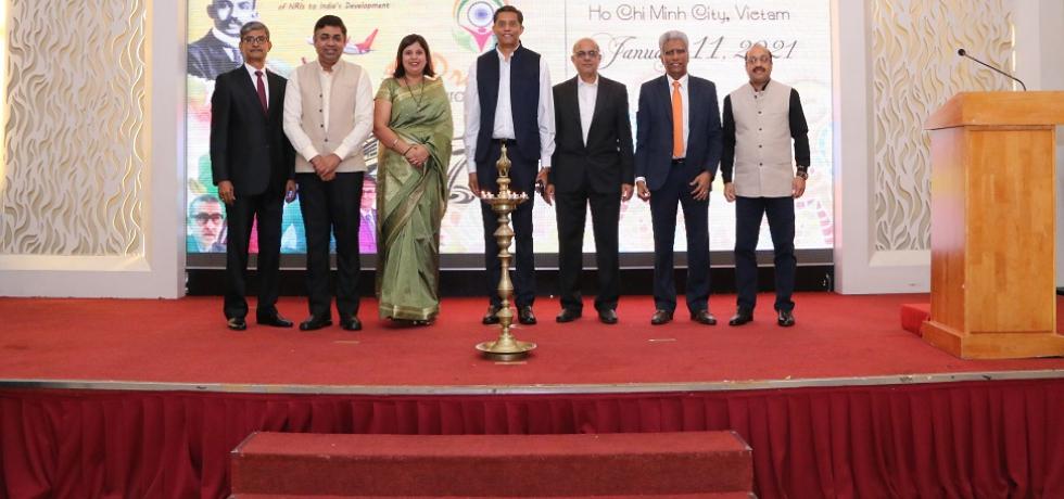 Celebration of Pravasi Bharatiya Divas in CGI, HCMC on 11th January, 2021.