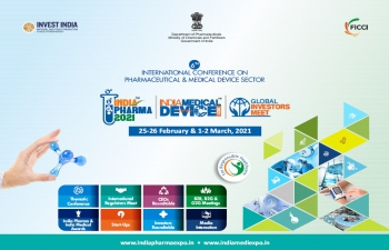INTERNATIONAL CONFERENCE ON PHARMACEUTICAL & MEDICAL DEVICE SECTOR (25-26 February & 1-2 March 2021)