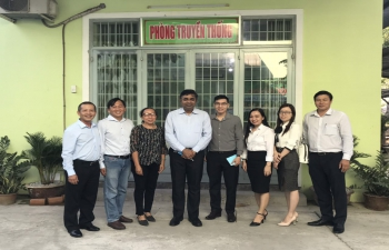 Consul General's visit to Soc Trang Province