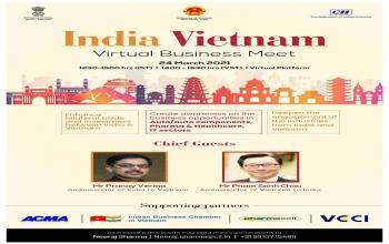 Webinar on 'INDIA - VIETNAM VIRTUAL BUSINESS MEET' (24th March 2021)