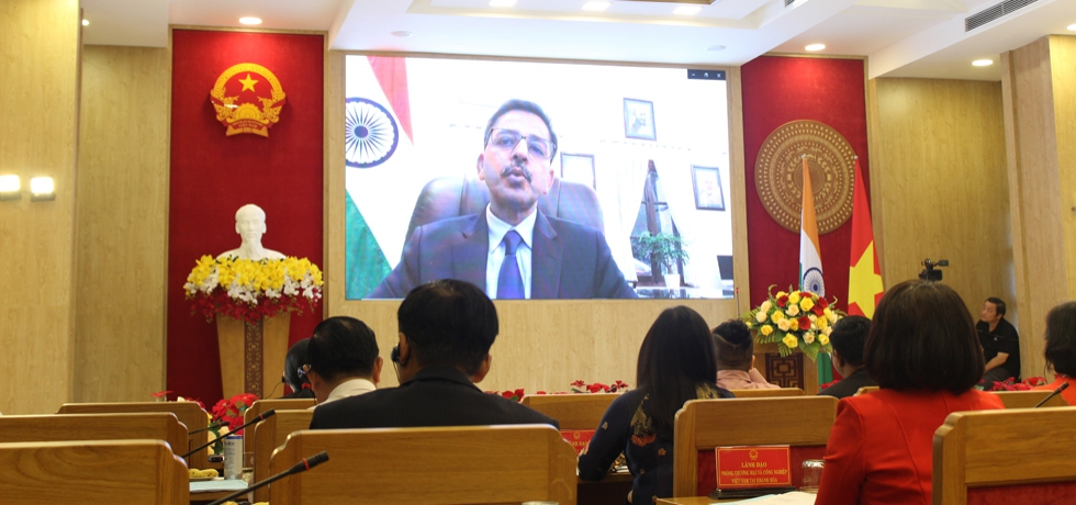 Remarks of Ambassador Pranay Verma at the webinar on 'Cooperation Promotion: India - Khanh Hoa Province' organized by CGI, HCMC in collaboration with Khanh Hoa Province on 25th March, 2021.
