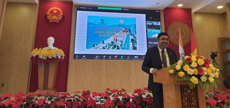 Remarks of Dr. Madan Mohan Sethi, Consul General at the webinar on 'Cooperation Promotion: India - Khanh Hoa Province' organized by CGI, HCMC in collaboration with Khanh Hoa Province on 25th March, 2021.