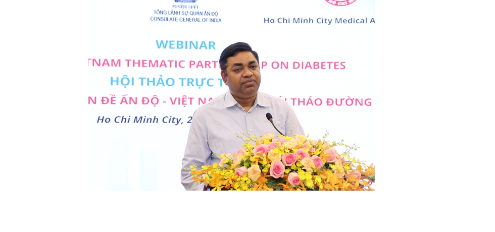 Remarks of Dr. Madan Mohan Sethi, Consul General during the