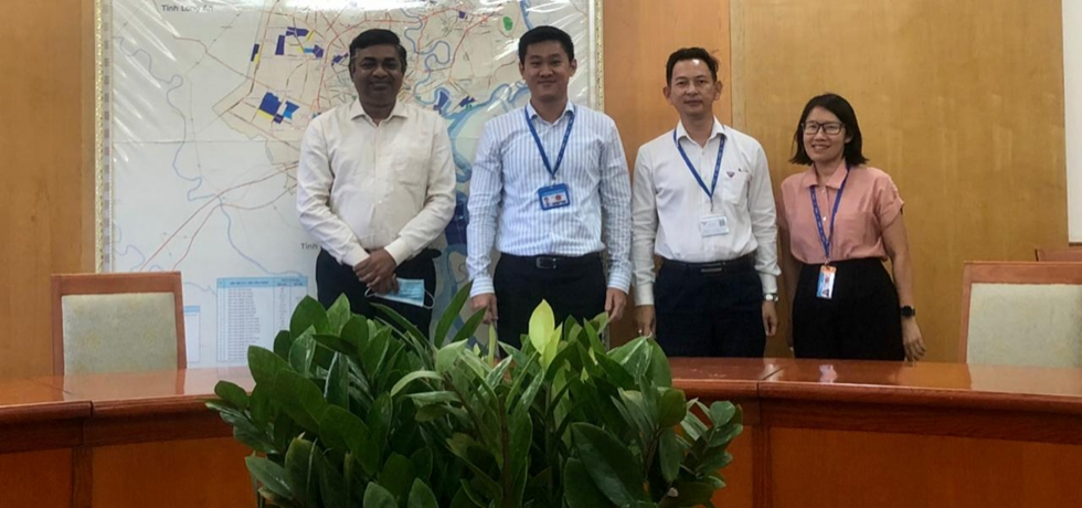 Consul General of India Dr. Madan Mohan Sethi met with Mr. Hua Quoc Hung, Chairman of the Ho Chi Minh Export Processing and Industrial Zones Authority (HEPZA) on May 4th, 2021.
