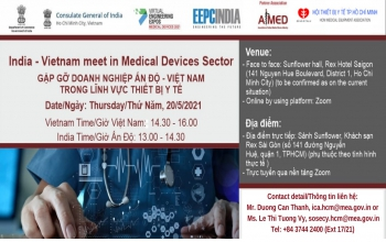 Virtual & Face to Face Meeting: India – Vietnam in Medical Devices Sector (20th May 2021)