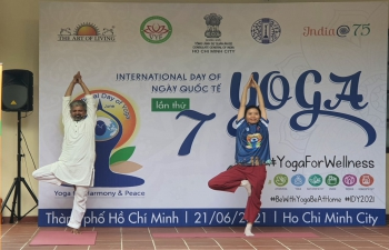 7th International Day of Yoga, 2021 (21st June, 2021)