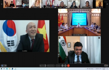 Virtual Meeting between Ho Chi Minh City Leadership and Foreign Missions in Ho Chi Minh City (6th July, 2021).