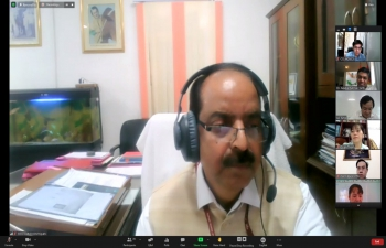 Online Seminar on 'Vaccines in Animals and Poultry' by Indian Council of Agricultural Research (ICAR) with Faculty of Agriculture & Food Technology of Tien Giang University (13th July, 2021).
