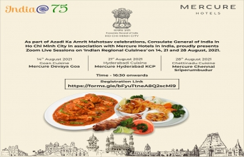 Zoom Live Sessions on Indian Cuisines