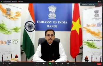 "Webinar on ""Cultural Meet Between India & Vietnam"" (18th August, 2021)"
