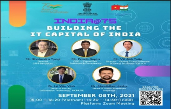 Webinar INDIA@75: BUILDING THE IT CAPITAL OF INDIA (8th September, 2021)