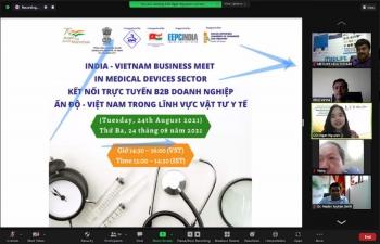 Webinar 'Business Meet between India & Vietnam in Medical Devices' (24thAugust, 2021)