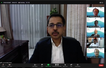 Webinar 'Management and Treatment of Covid-19: Experiences from India' (25th September, 2021)